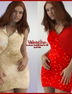 Valentine for dForce Charlotte Dress for G8F