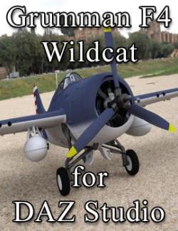 Grumman F4F 4 Wildcat for DAZ Studio