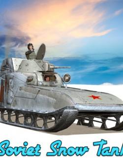 Soviet Snow Tank