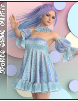 dForce - Esme Outfit for G8F & G8.1F