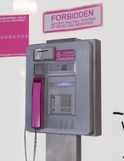 Phone Booth Telephone - EXTENDED LICENSE