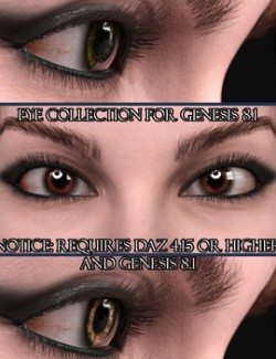 Eye Collection for Genesis 8.1