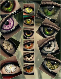 Arcane Enchantress Geoshell Eye Builder For Genesis 8 Female