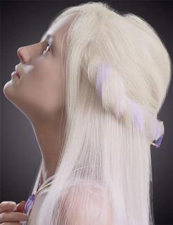 dforce Arcane Enchantress Hair for Genesis 3 and 8 Female