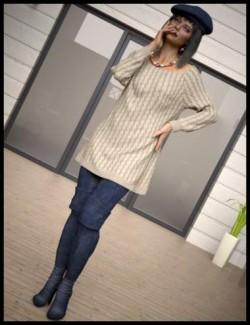 dForce Sweet Winter Outfit for Genesis 8 Females