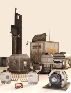 Sci-Fi Settlement 2 Construction Set