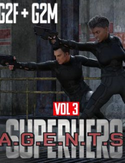 SuperHero Agents for G2F and G2M Volume 3