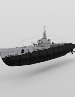 USS Trigger for DAZ Studio