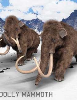 Woolly Mammoth for Daz Studio