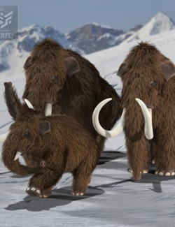 Woolly Mammoth for Poser