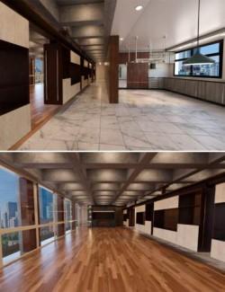 Tesla3dcorp Open Apartment Environment