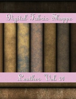 Digital Fabric Shoppe - Leather Vol 01