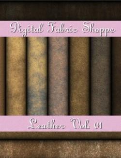 Digital Fabric Shoppe- Leather Vol 01