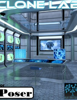 Clone Lab for Poser