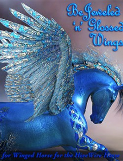 FL-RD Bejeweled-n-Glossed for Winged Horse