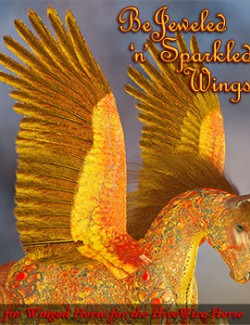 FL-RD Bejeweled-n-Sparkled for Winged Horse