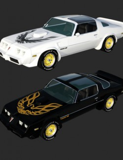 PONTIAC FIREBIRD TRANSAM BUNDLE for DAZ
