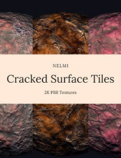 15 Cracked Surface Textures