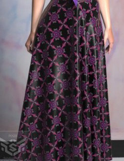 Black and Lilac for Dynamic Skirts 1 and 2