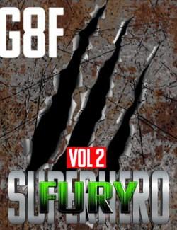 SuperHero Fury for G8F Volume 2