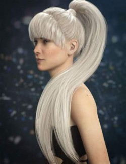 Qiana Hair for Genesis 3 and 8 Females
