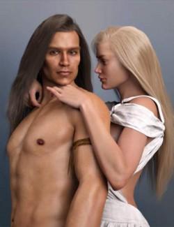 dForce Romeo Hair for Genesis 8