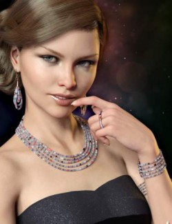 Sparkling Jewelry for Genesis 8 and 8.1 Females