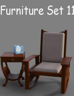 Furniture Set 11 for DAZ Studio