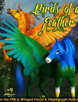 Birds of a Feather for the HW Horse, Winged Horse & Hippogryph