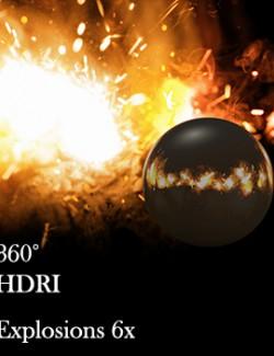 Explosions 360 Environment (HDRI)