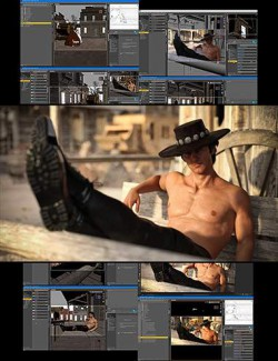 Making Of The Cowboy Photoshoot - Video Tutorial