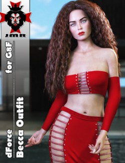 JMR dForce Becca Outfit for G8F