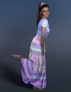 dForce Trudie Outfit for Genesis 8 and 8.1 Females