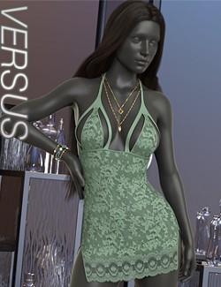 VERSUS - dForce Affair Nightie for Genesis 8 Females