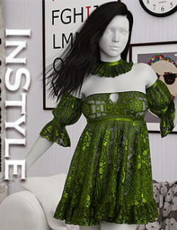 InStyle- dForce- Esme Outfit for G8F & G8.1F