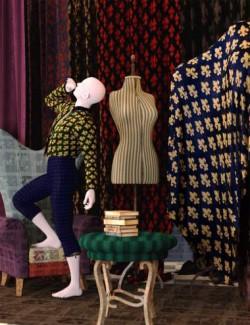 Fabulous Fabrics - Brilliant Brocades Iray Shaders