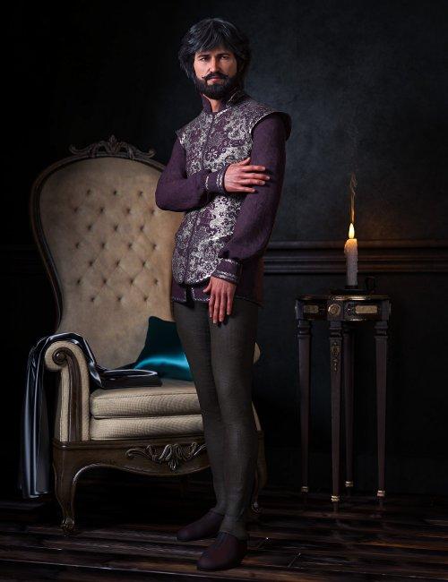 dForce Royal Fashion for Genesis 8 Males