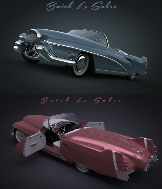 BUICK LE SABRE 1951 for DAZ