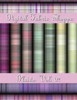 Digital Fabric Shoppe- Plaids Vol 01