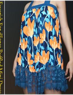 Feverish For dForce Ruffled Mini Dress