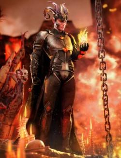 dForce Rage Armor for Genesis 8.1 Males