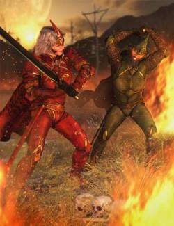 dForce Rage Armor Textures