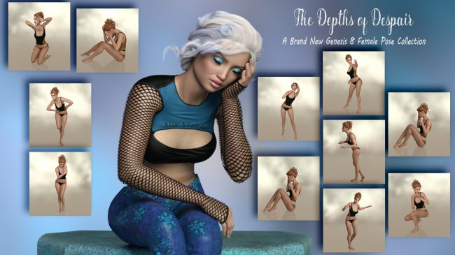 The Depths of Despair- Poses for g8F