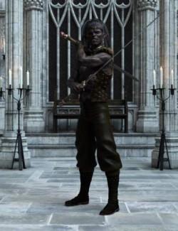 Dark Hunter Poses for Dark Elf
