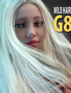 Wild Hair for Genesis 8