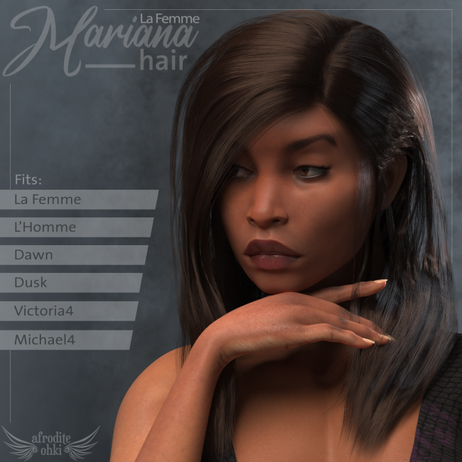 Mariana Hair for La Femme and more
