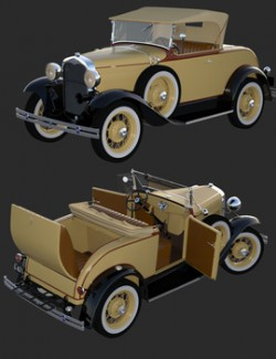 FORD A 1930 for DAZ