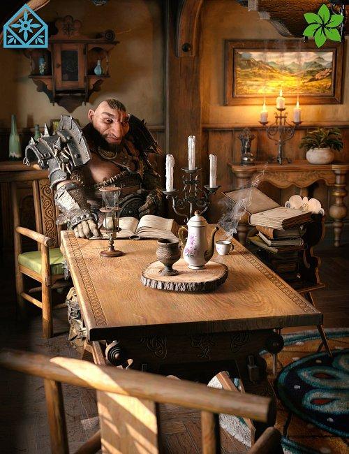 ROG Fantasy Home - Living Room Furniture Set