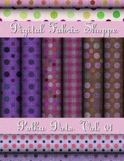Digital Fabric Shoppe - Polka Dots Vol 01