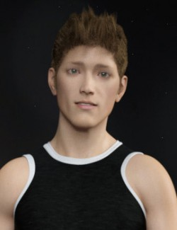 Rico for Genesis 8 Male and Genesis 3 Male